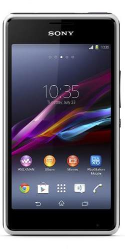Vodafone Sony Xperia E1 4Gb Pay As You Go Smartphone - White