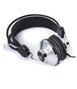 Super Light 3.5mm DJ Retro Classic Chrome Headphones Regular Price £20.82 Save £11