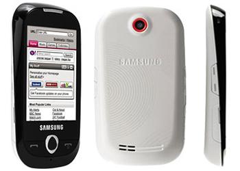 Samsung S3650 Genio T-Mobile PAYG Mobile Phone Black