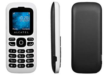 Alcatel 232 O2 Pay As You Go Mobile Phone - White