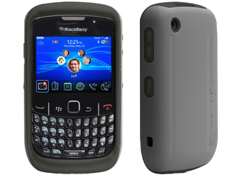 outlet store ff1d9 4fb14 Case-Mate Blackberry Curve 8520/9300 Hybrid Case Cover Black