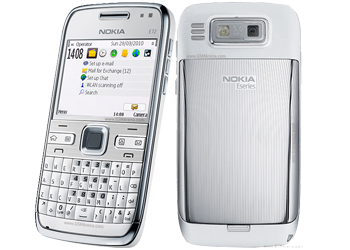 Nokia E72 Silver   review