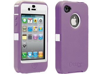 super popular 63b4d 5fbec OtterBox Purple/White Defender Case Cover For Apple IPhone 4