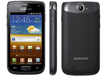Samsung Galaxy W i8150 Android Sim Free Unlocked Mobile Phone - Black