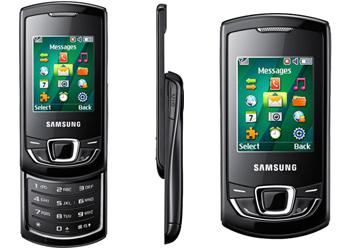 Samsung Monte E2550 Pine Slider T-Mobile Pay As You Go - Black