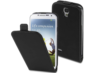 new style c1261 4bddb Samsung Galaxy S4 Flip Case, Galaxy S4 Flip Cover, Leather Buy Only