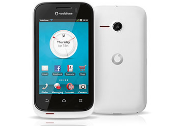 Vodafone 575 Pay As You Go / Payg Mobile Phone - White