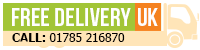 Free Delivery on everything except PAYG. PAYG Delivery Charge: £2.50