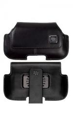 Genuine BlackBerry HDW-18975 Leather Horizontal Holster