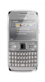 Nokia E72 Silver Sim Free Unlocked Mobile Phone