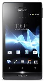 Sony Xperia Miro Android O2 Pay As You Go Mobile Phone - Black