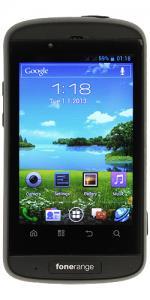 Fonerange Rugged Android Smart Phone Dual Sim Unlocked/Sim Free Waterproof, Dustproof and Shockproof