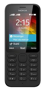 Nokia 215 Sim Free Mobile Phone - Black