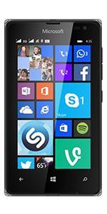 Microsoft Lumia 435 Dual Sim - Sim Free Smartphone - Black