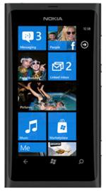 Nokia Lumia 800 Windows Sim Free Unlocked Mobile Phone- 16GB- Black