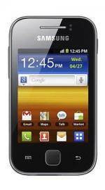 Samsung Galaxy Y S5360 Android O2 Pay As You Go Mobile Phone - Black